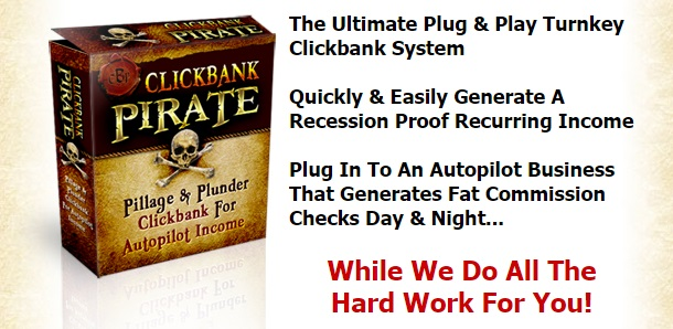 What Is Clickbank Pirate Me Harties!