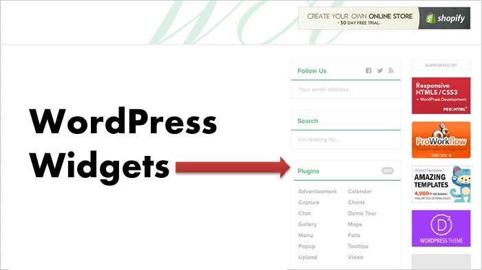 What Is A WordPress Widget?