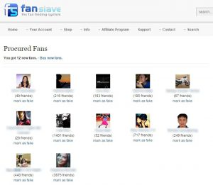 what is fanslave