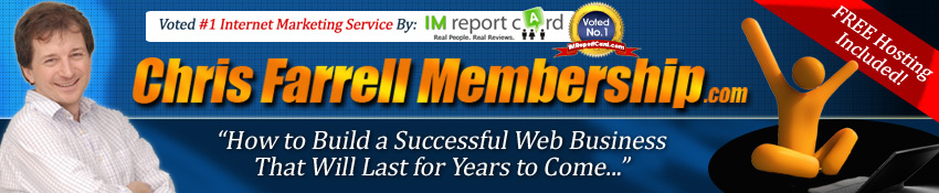 What is Chris Farrell Membership banner