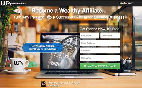 So what is wealthy affiliate about