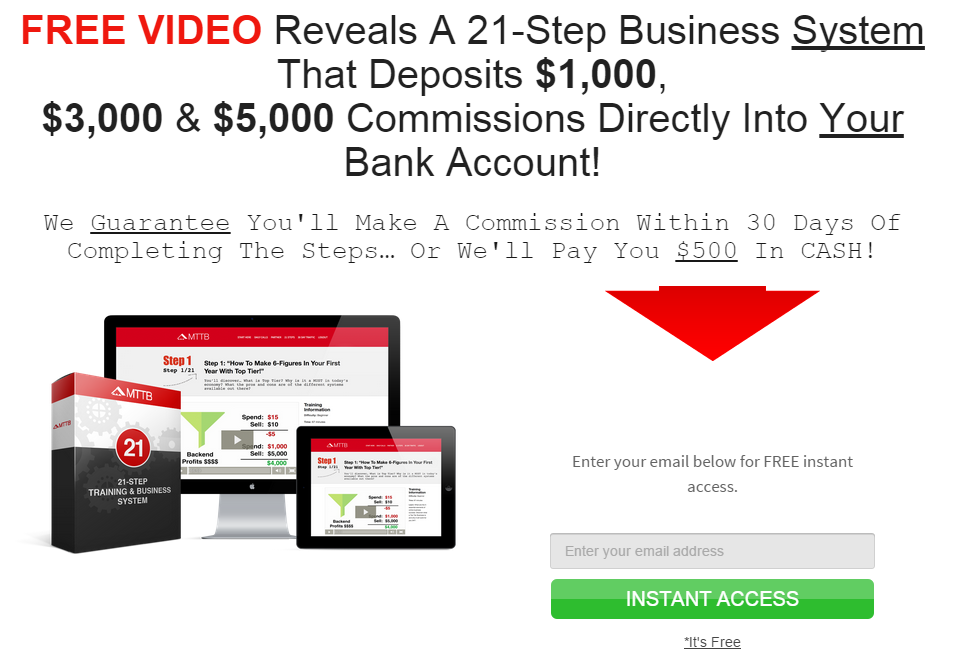 My Top Tier Business Review – Simply a Scam